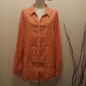 Old Navi top long Sleeve Blouse Pluse size 2Xl